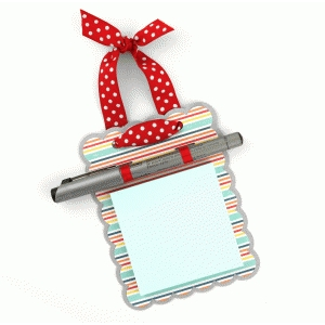lori whitlock post-it note hanger