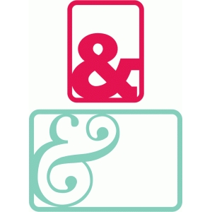 ampersand journaling cards 3x4, 4x6
