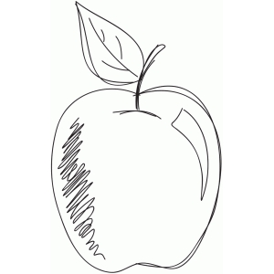 sketch apple