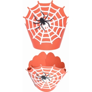wrapper cupcake spider