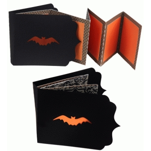 halloween bat accordion album