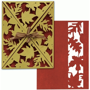 card wrap: a2 falling leaves