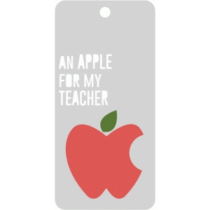 an apple for my teacher