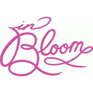 in bloom script