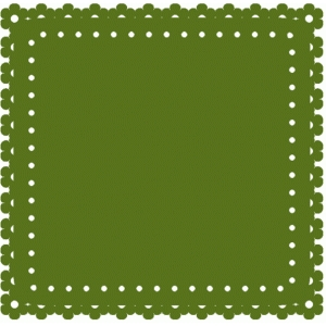 floral square mat background