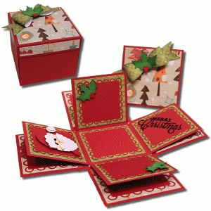 christmas explosion box kit