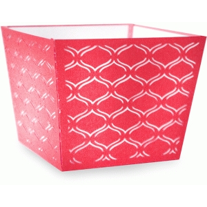 geometric open basket