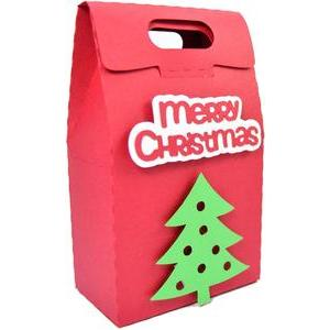 merry christmas tree bag