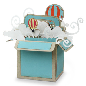 explosion box- balloon ride