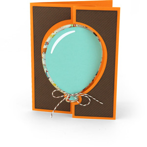 flip flap card balloon