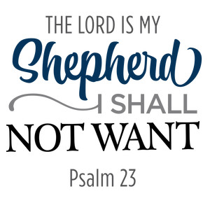 lord is my shepherd phrase