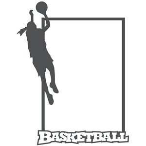 girls basketball frame tall