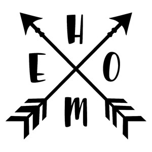 home crossed arrows