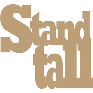 stand tall phrase