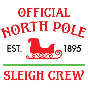 official north pole sleigh crew