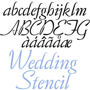 ld wedding stencil