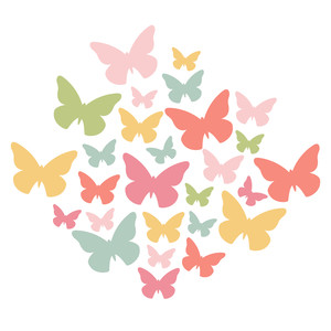 butterfly cluster