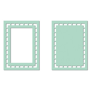 cutout border rectangle frame
