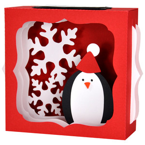 penguin gift card box
