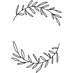 flourish branch wreath