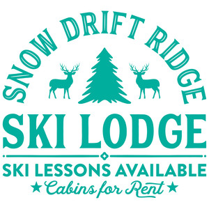 snow drift ridge ski lodge