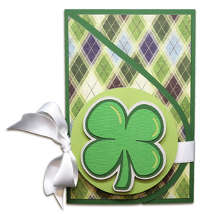 st. patty's teardrop card