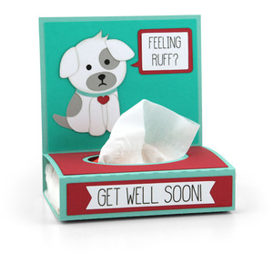 get well tissue wrap