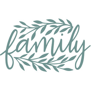 family leaf frame