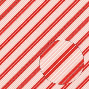 christmas candy cane stripes seamless pattern