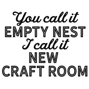 empty nest new craft room