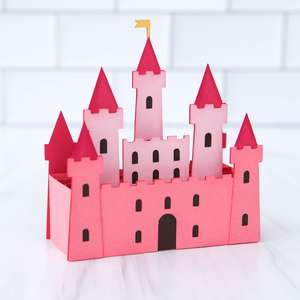 box card castle