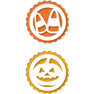 halloween tags toppers