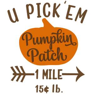 u pick pumpkin patch