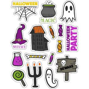 ml halloween pretties stickers