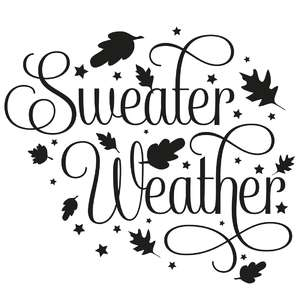sweater weather quote