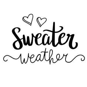 sweater weather winter quote