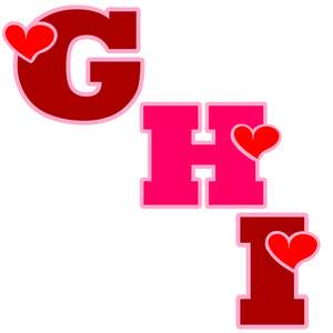 valentine ghi letters