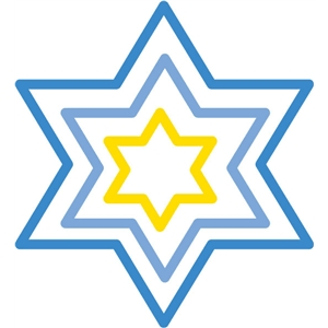 star of david outlines