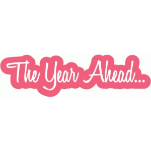 the year ahead word bubble