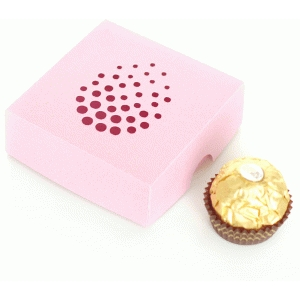 easter soiree dot truffle box
