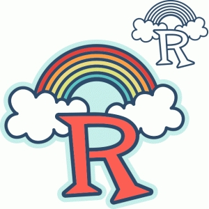 'r' is for rainbow (samantha walker)