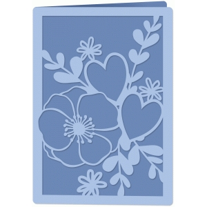 multi-flower card