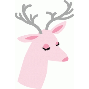 pretty retro reindeer