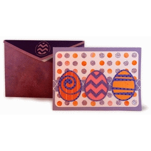 eggs trio card with envelope