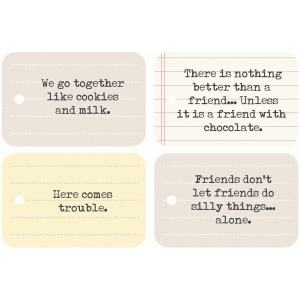 we go together funny note cards