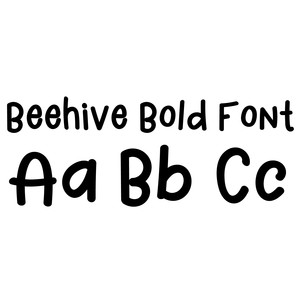 beehive bold font