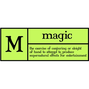 m is for magic pc