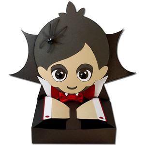 vampire boy hug treat box