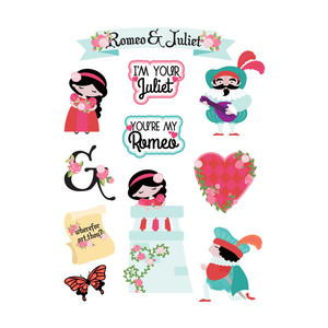 romeo and juliet stickers