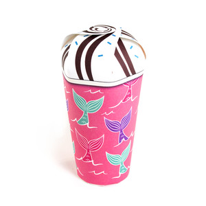 mermaid tails treat cup